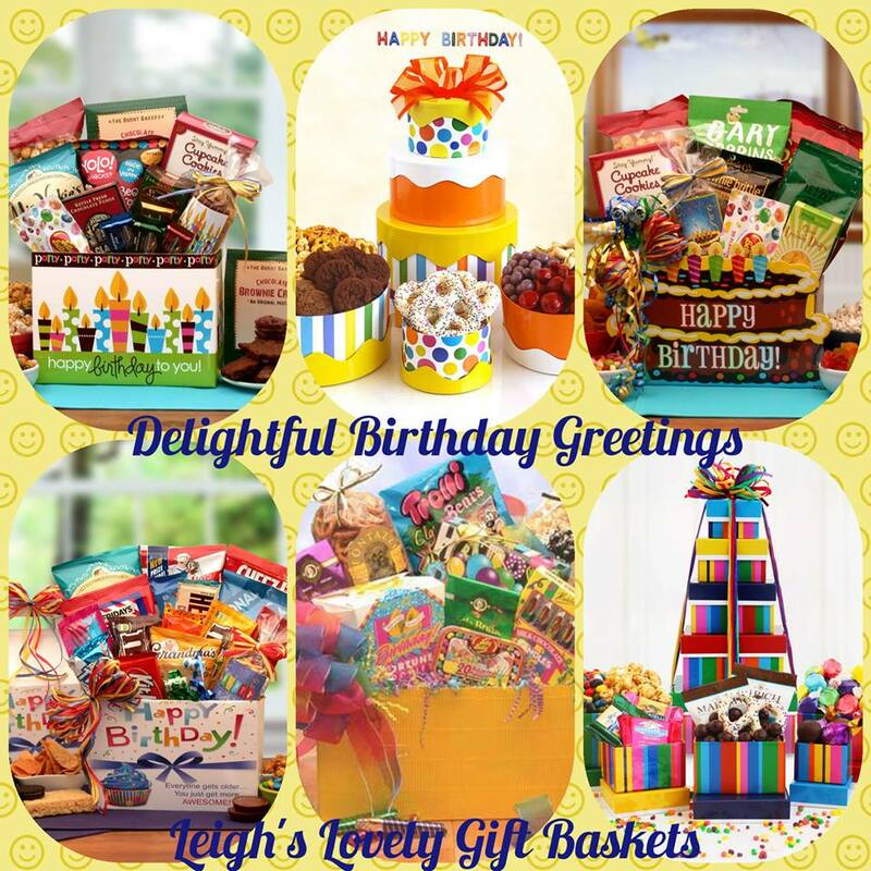 Photo Collage link to the Birthday  / Occasions Gift Baskets category.