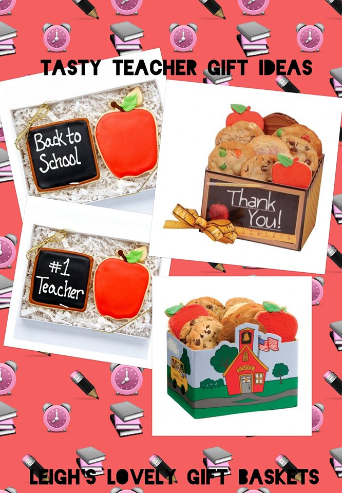 Photo collage link to Teachers and Graduation Cookie Gifts