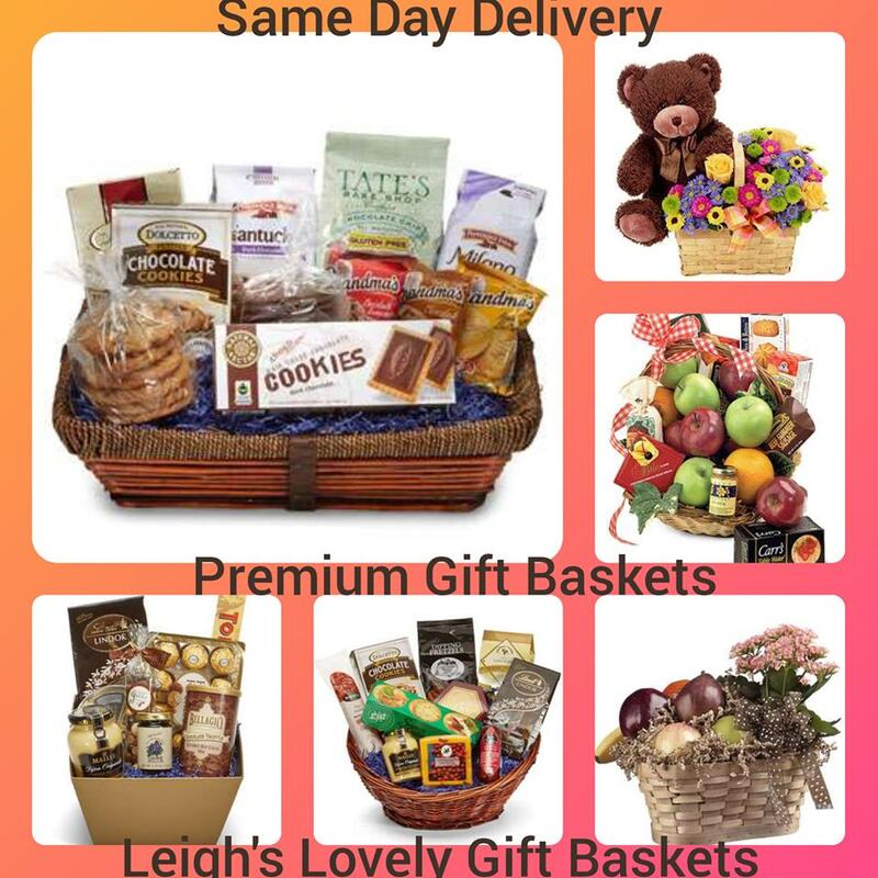 Gift Baskets With Same Day Delivery Service.