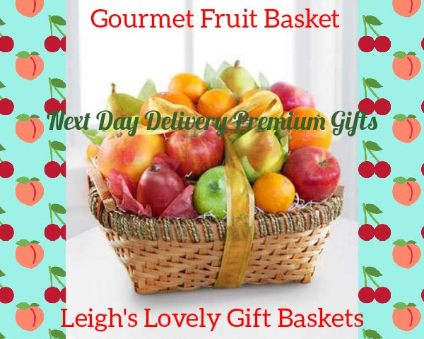 Handsome woven basket filled with  apples ,pears  Mandarin and Navel Oranges and a Grapefruit