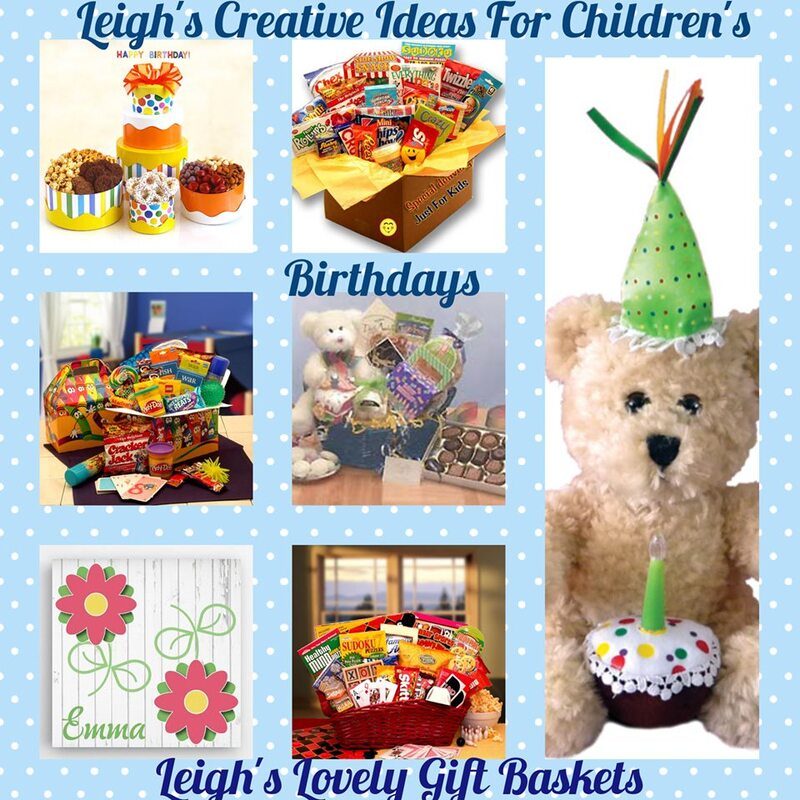 Leigh's Creative Ideas For Children's Birthdays Page Link