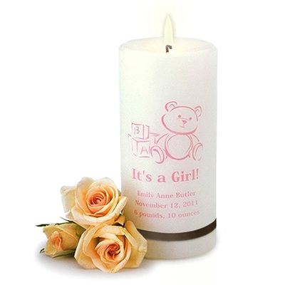 Link to Personalized Candles within Candles & Accessories category