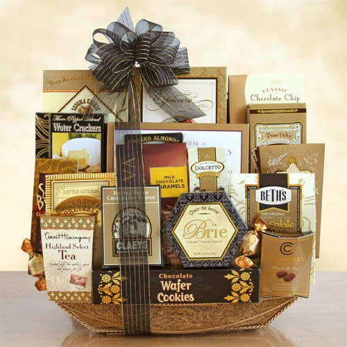 Exquisite gift basket to impress your  clients or for a charity fundraiser!