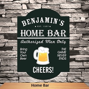Photo link to the Pub Signs category of Leigh's Personalized Gifts Store