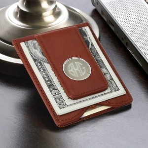 Photo link to the Money Clips and Wallets category of Leigh's Personalized Gifts Store