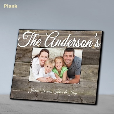 Photo link to Frames Category of Personalized GIfts