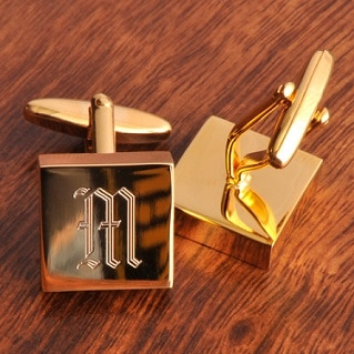 Photo link to the Cuff Links category of Leigh's Personalized Gifts Store