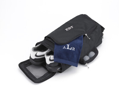 Photo link to Golf Shoe Bag in the Golf category of Leigh's Personalized Gifts Store