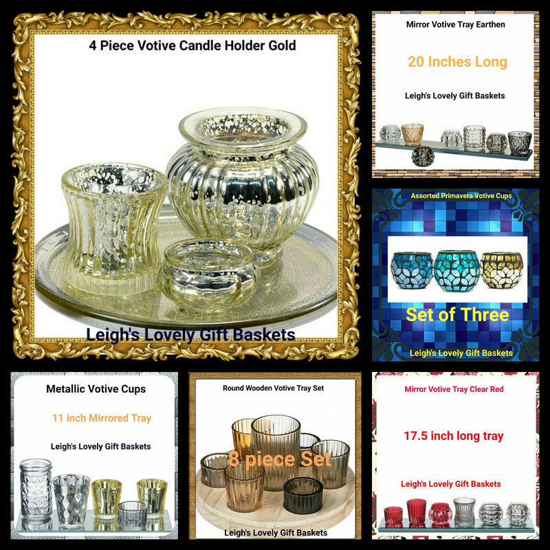 Photo Collage link to the Votive Candle Holder Sets category.