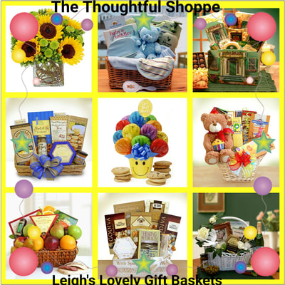 The Thoughtful Shoppe Page Link for all occasion gift shopping!