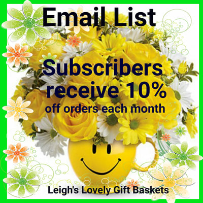 Leigh's Lovely Email List Link to Subscribe