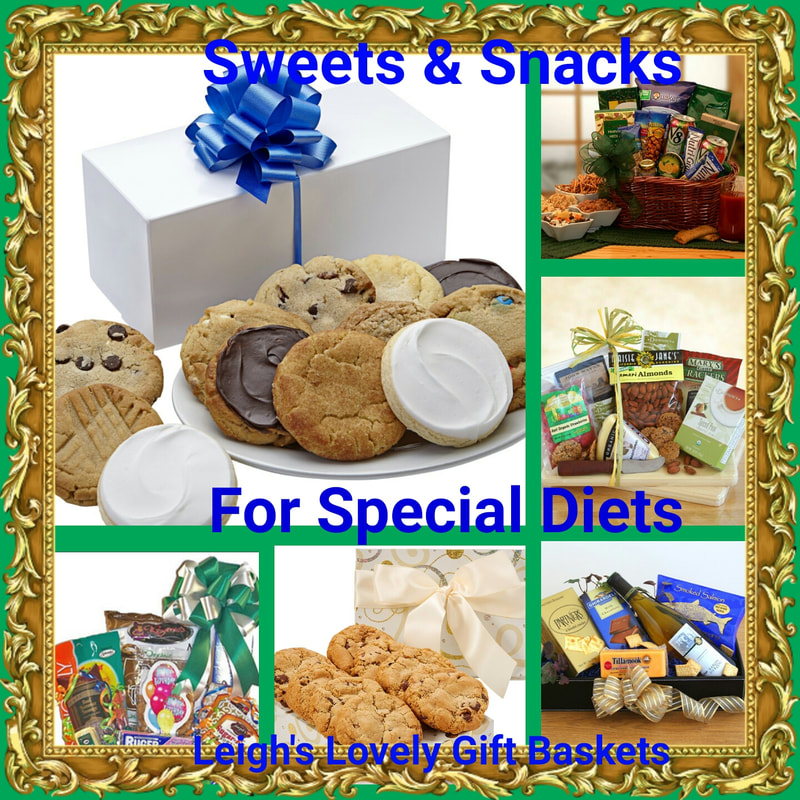 Sweets and Snack ideas for those with special dietary needs