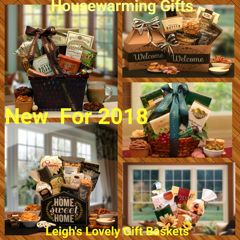 Photo Collage link to the Realtor/ Housewarming Gift Baskets category