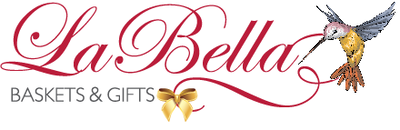 Leigh's La Bella Baskets Online gift boutique link.