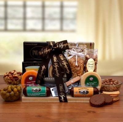 With Our Deepest Sympathy Gourmet Gift Board $69.99