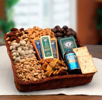 Snackers Delight Nut and Snack Tray  $75.99