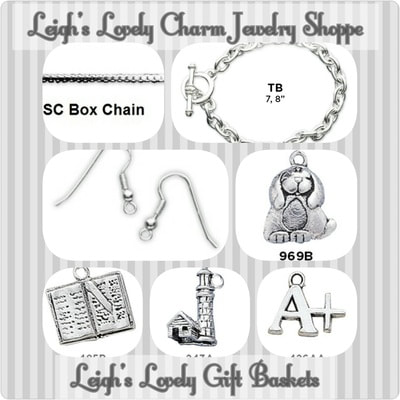 Leigh's Lovely Charm Jewelry Shoppe Page has been updated! Click on this collage photo link to visit and shop.