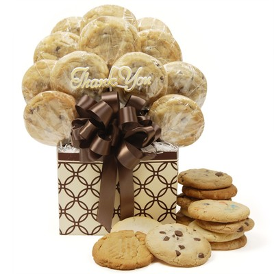 "Thank You Cookie Bouquet is a delicious and memorable way to say "" Thank You"""