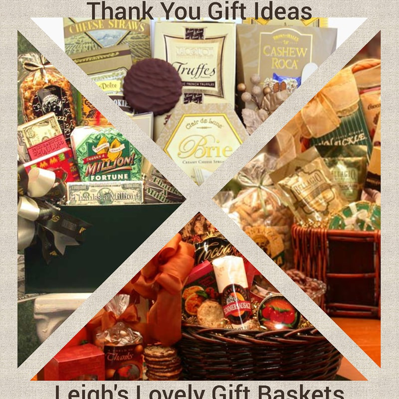 Thank You Gift Baskets Photo Collage link