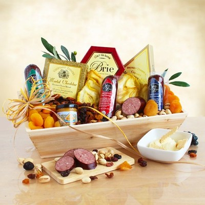 Meat and Cheese Wooden Gift  $79.99